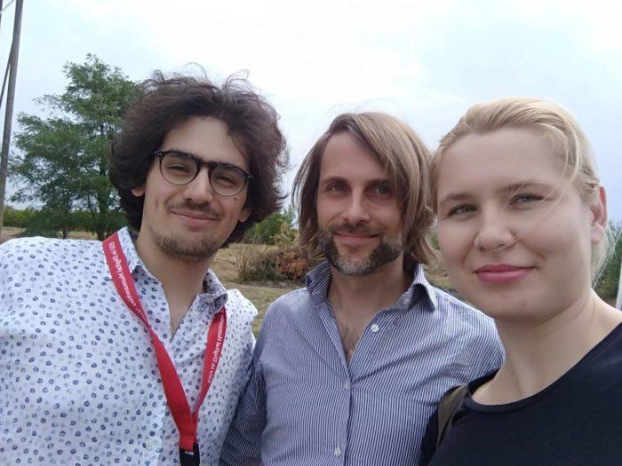 Лео и Питер - учителя нашего воркшопа по computer vision для digital art и visual cultural heritage