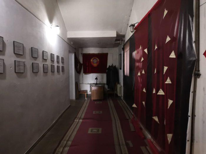 Зал репрессий в музее Сталина