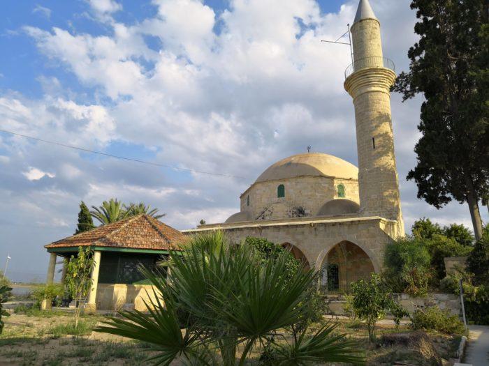 Про Хала Султан Текке, мечеть на озере