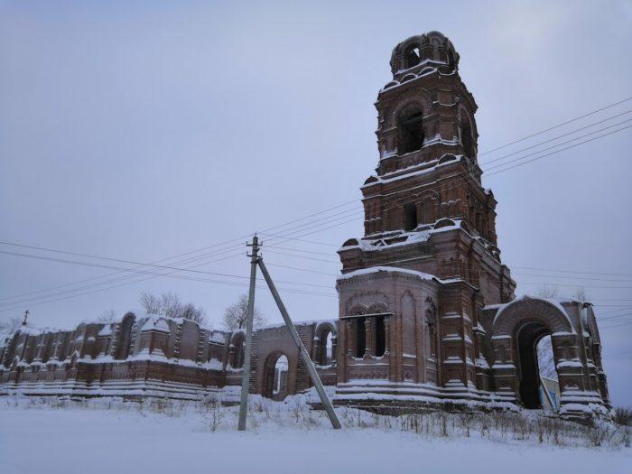 Богоявленская церковь в Майкоре