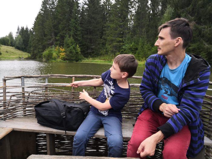 Плот в Лудорвае