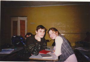 Саша Гагарин и Динара Нурдинова