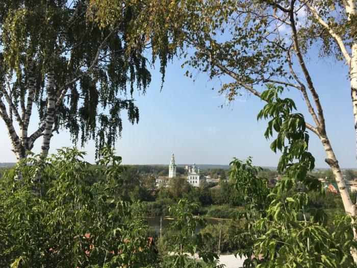 Вид на Кунгур от Тихвинского храма